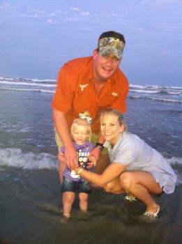 Bulkley Family at Port Aransas