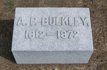 Bulkley Headstone