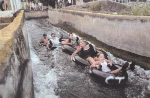 Tubing in New Braunfels