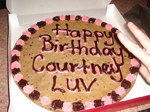 Courtney's Birthday Cake