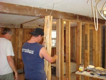 Texas Hunt Lodge under construction