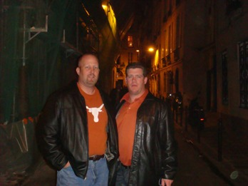 Gary and Aaron in Paris