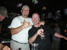 Gary and Jimmie @ Rihn's in Devine, TX