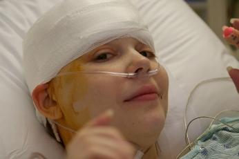 Gwendolyn Post Surgery
