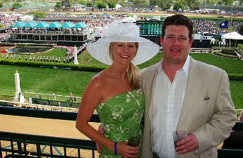 Aaron Bulkley Kentucky Derby Millionaires Row