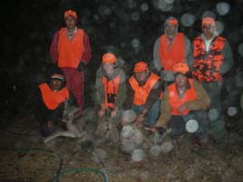 Texas Youth Hunting Program - Circle Bluff, January 2007