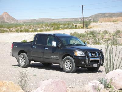 Aaron's Truck - Lajitas, TX