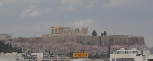 Parthenon from My Hotel
