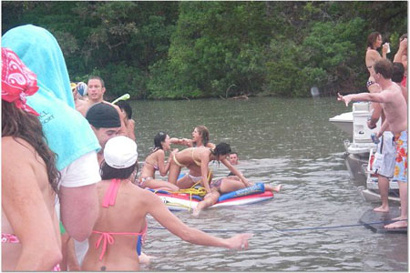 Lake Austin Party Picture