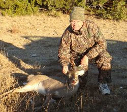 Ralph Bulkley with Whitetail