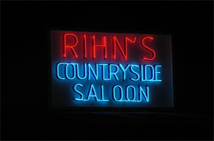 Rihn's Saloon in Devine