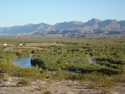 Rio Grande, TX & Mexico