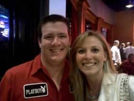 Aaron Bulkley, Sallie partying in Louisville, KY