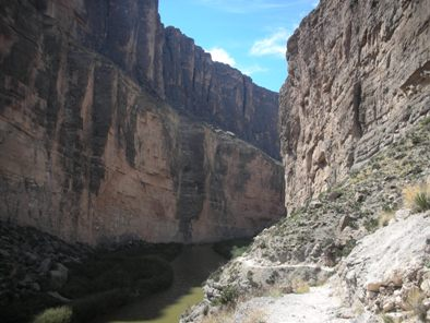 Big Bend Santa Elena Canyon Picture