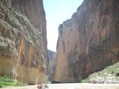 River Rafting through Santa Elena Canyon - Big Bend, TEXAS