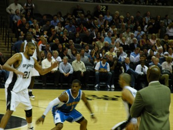 Spurs Game 2009