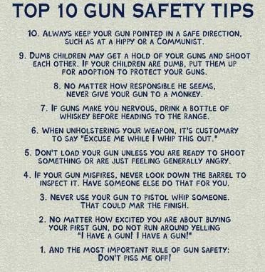 Aaron's Gun Safety Tips