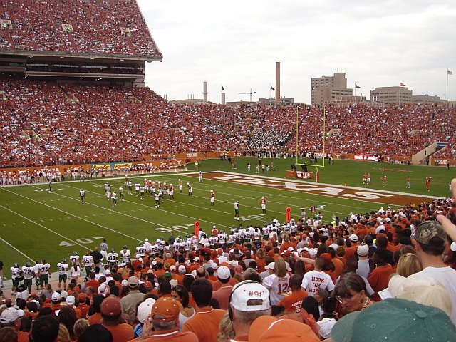 UT vs Baylor Game